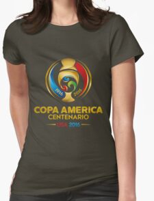 copa america 2016  Womens Fitted T-Shirt