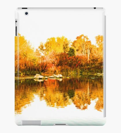 Impressions of Forests - Colorful Autumn Mirror iPad Case/Skin