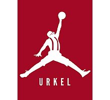 Steve Urkel Jumpman Logo Spoof 3 Photographic Print