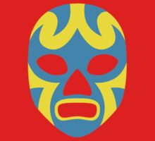 Mexican Wrestling Mask, Luchador One Piece - Long Sleeve