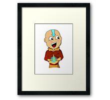 Cartoon Aang Framed Print