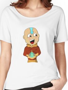 Cartoon Aang Women's Relaxed Fit T-Shirt