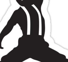 Steve Urkel Jumpman Logo Spoof 4 Sticker