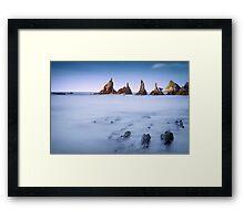Swimming Dragons Framed Print