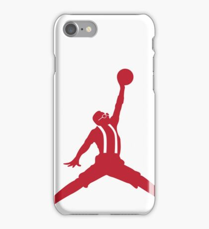 Steve Urkel Jumpman Logo Spoof 5 iPhone Case/Skin