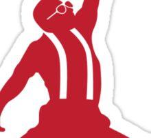 Steve Urkel Jumpman Logo Spoof 5 Sticker