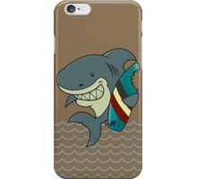 The great white surfer iPhone Case/Skin