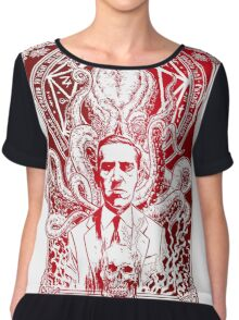 Cthulhu Howard Phillips Lovecraft HP historical society Chiffon Top