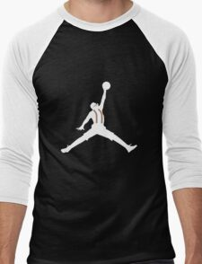 Steve Urkel Jumpman Logo Spoof 6 Men's Baseball ¾ T-Shirt