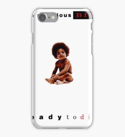 Notorious BIG ready to die cover iPhone Case/Skin