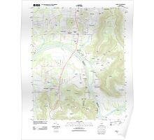 USGS TOPO Map Alabama AL Farley 20110921 TM Poster