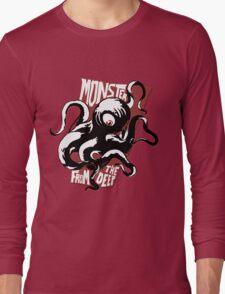 Monster from the Deep Long Sleeve T-Shirt