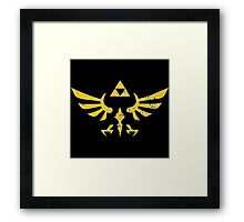 legend of zelda Framed Print