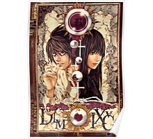 Death Note Misora Naomi & L Poster