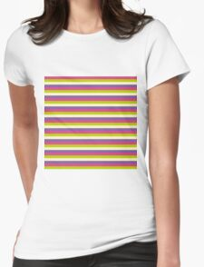 Pattern Womens Fitted T-Shirt