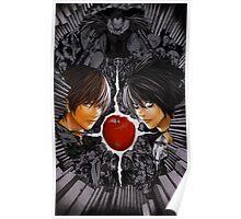 Death Note L vs Kira Poster
