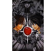 Death Note L vs Kira Photographic Print