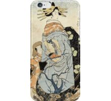 Matsubaya Uchi Yachiyo - Eizan Kikukawa - c1810 - woodcut iPhone Case/Skin