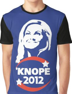 Leslie Knope for City Council Graphic T-Shirt