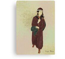 Portrait Practice - Vlad Canvas Print