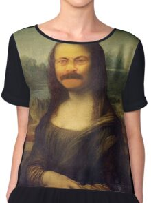 The Mona Swanson Chiffon Top