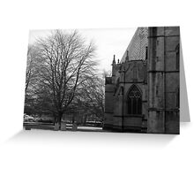 Southwell Minster Nottingham England 2 Greeting Card