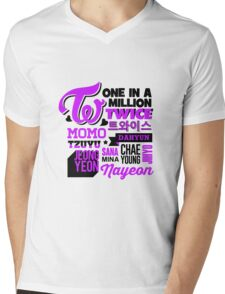 TWICE Collage Mens V-Neck T-Shirt
