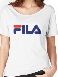 Fila Classic Women's Relaxed Fit T-Shirt