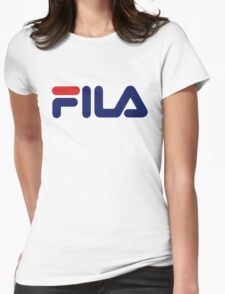 Fila Classic Womens Fitted T-Shirt