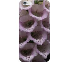 Exquisite Foxgloves Up Close iPhone Case/Skin