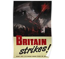 Britain Strikes! Poster