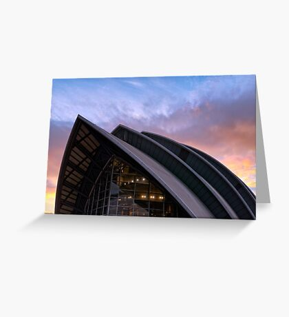The Clyde Auditorium Greeting Card