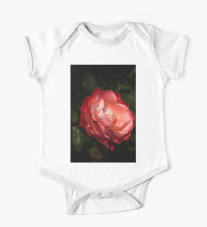 A Gift From My Mother's Garden - Chiaroscuro Rose One Piece - Short Sleeve