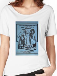 THE TIGERS OF HONG KONG B MOVIE Women's Relaxed Fit T-Shirt