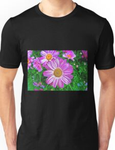 Glowing Daisies Unisex T-Shirt