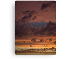 The Cool Front Canvas Print
