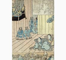 Memorial Print For The Actor Ichikawa Danjuro - anon - 1854 - woodcut Unisex T-Shirt