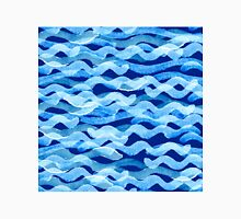watercolor blue wave pattern Unisex T-Shirt
