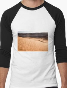 Desert sand dunes.  Men's Baseball ¾ T-Shirt