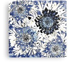 Your Fragrance is Divine My Love Blue Metal Print