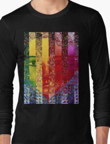 Conundrum I - Rainbow Woman Long Sleeve T-Shirt