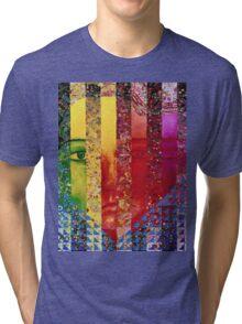 Conundrum I - Rainbow Woman Tri-blend T-Shirt