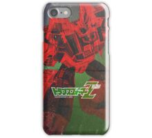 G1 Transformers Zone Poster iPhone Case/Skin