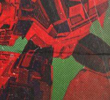 G1 Transformers Zone Poster Sticker