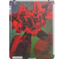 G1 Transformers Zone Poster iPad Case/Skin