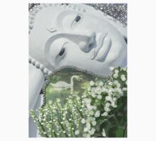 In the Garden - Quan Yin Lilies of the Valley Kids Tee