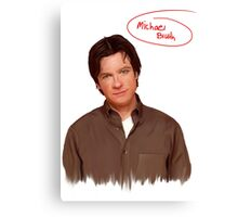 Michael Bluth  Canvas Print