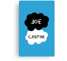 Jaspar - A Fault In Our Stars Inspired! Canvas Print
