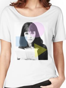 Anna Karina  - French New Wave Women's Relaxed Fit T-Shirt