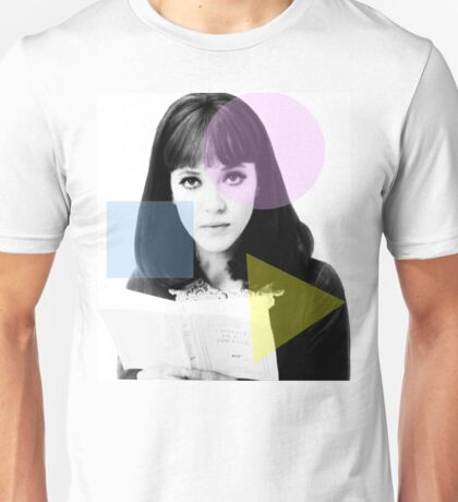 Anna Karina  - French New Wave Unisex T-Shirt